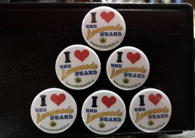 I Love The Lemonade Stand! 1.25″ Button